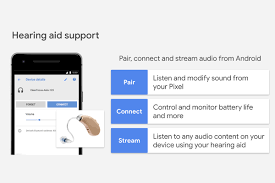 hearing aid android compatibility