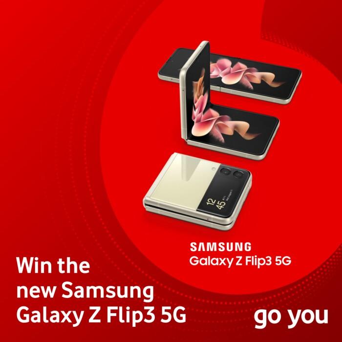 Win the new Samsung Galaxy Z Flip3 5G