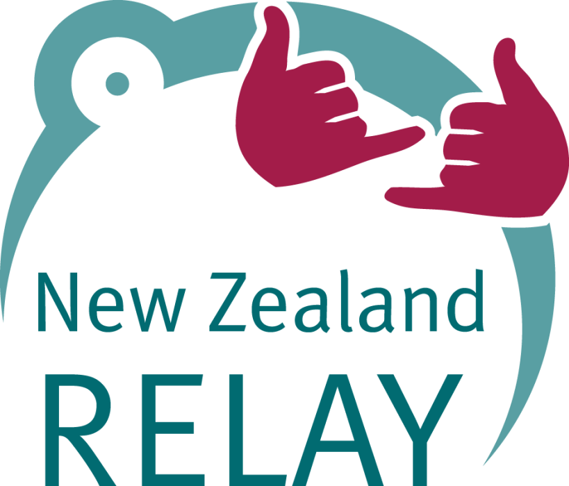 nz text relay logo