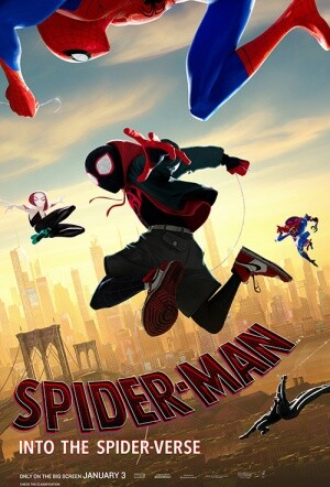 spider-man into the spiderverse movie poster