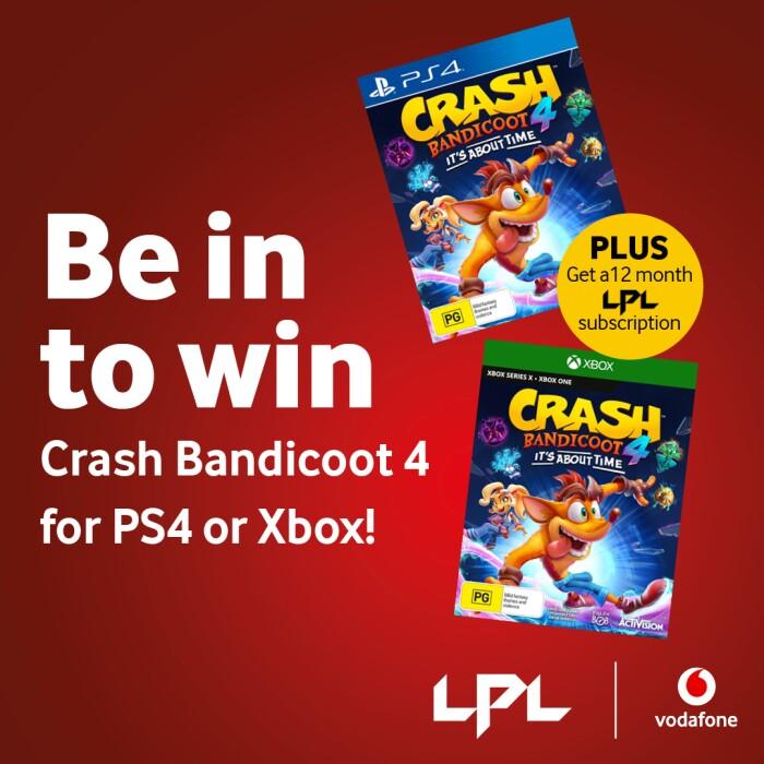 win crash bandicoot game