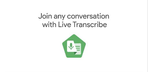 live transcribe logo