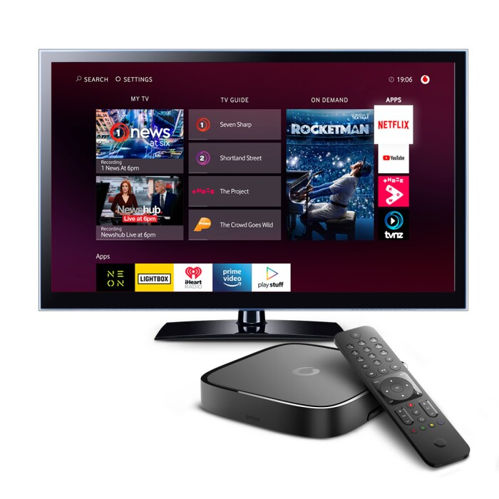 vodafone tv user interface
