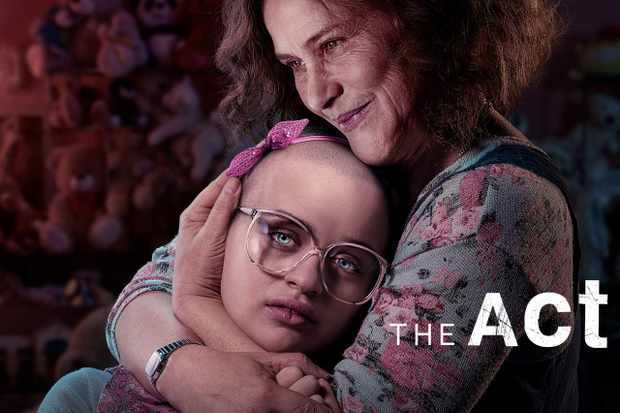 the act TV show poster - mum hugging daughter