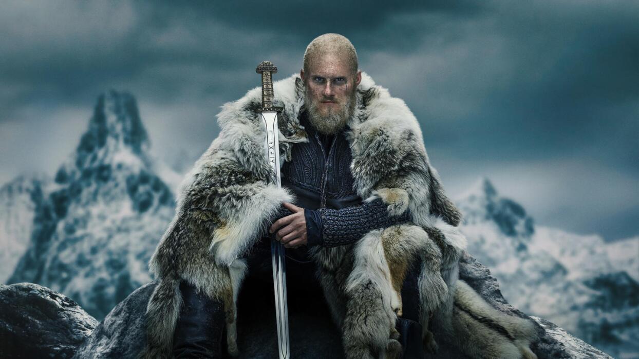 Bjorn Ironside (Lothbrok) from TV show Vikings