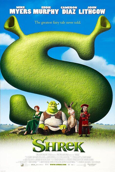 movie shrek poster