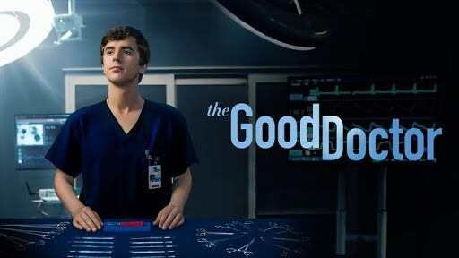 the good doctor poster. Freddia Highmore in surgery room