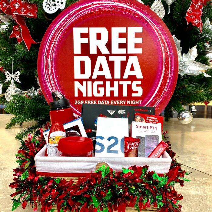 Free Data Nights Prize Bundle