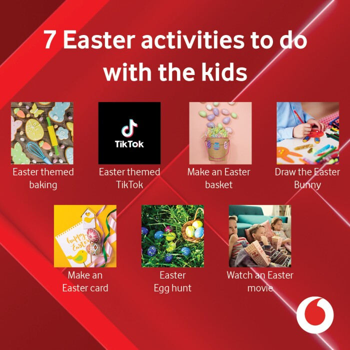 7 Easter activities to do with the kids