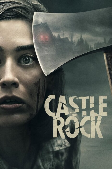 Castle Rock TV show poster - girl with ax
