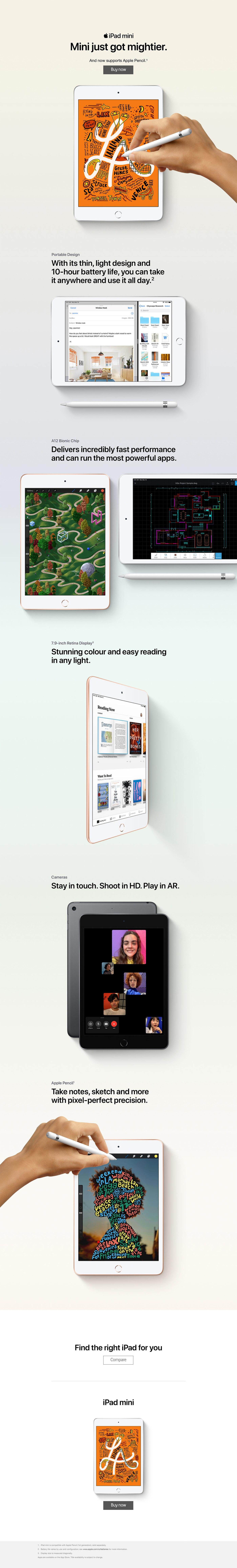 iPad mini features